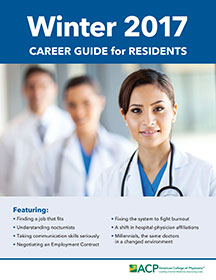 Career Guide for Residents - Winter 2017