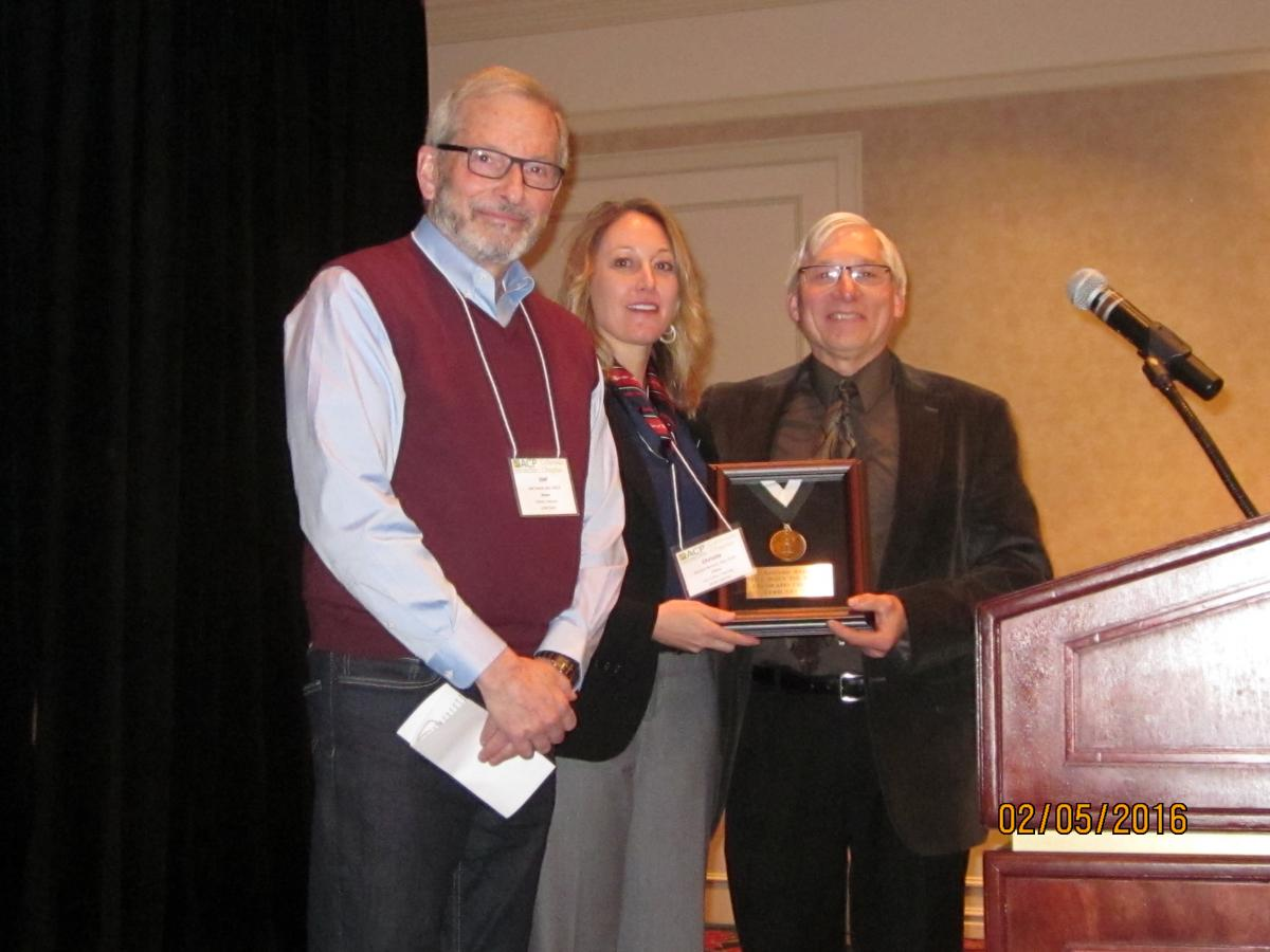 Ted Palen, MD, FACP, Christie Reimer, MD, FACP, and Joel Levine, MD, MACP