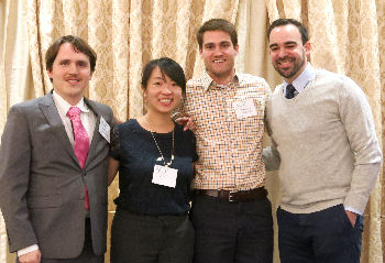 MedChallenge Winners - from the Yale Traditional Program, Joshua Bilsborrow, Jin Xu, Gregory Madden and Ben Cherry