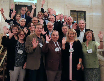 Class of 2016 from the 2014 Fall Board of Governors Meeting align=