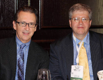 Dr. Douglas Rex (left) and Dr. Matt Neal (Governor)