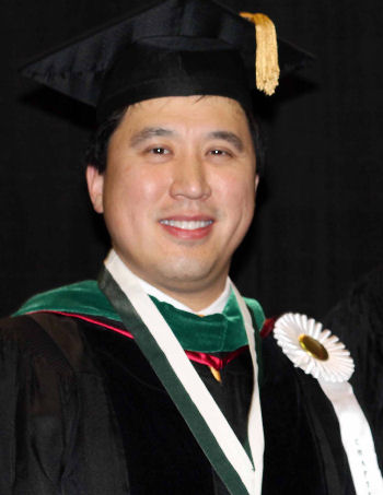 Dr. Michael Sha, Immediate Past Governor, also went through Convocation as the Chapter's Laureate Award winner