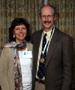 Our newest Maine Laureate, James Rines, MD, FACP and his wife Michelle