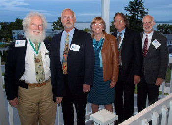Maine Chapter Governors - Richie Kahn, MD, MACP, Rich Engel, MD, FACP, Nancy Hasenfus, MD, FACP, Ted Sussman, MD, MACP and John Erickson, MD, FACP