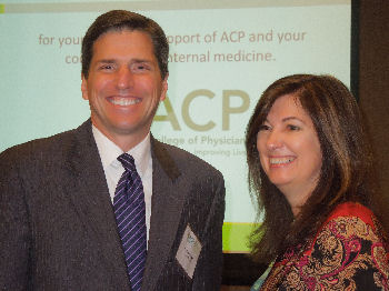 2014 Laureate Award winner, Paul S. Mueller, MD, MPH, FACP