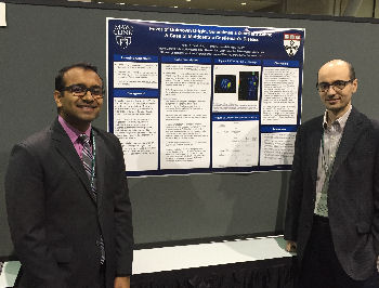 ACP Poster winner Sunny Patel and Dr. Issa