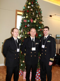 Navy ACP Planning Team (L to R): LCDR Casey Flanagan, CAPT Michael Keith, LCDR Andy Philip