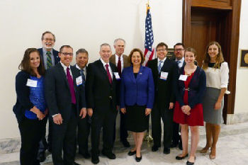 Nebraska Delegation with Senator Fischer
