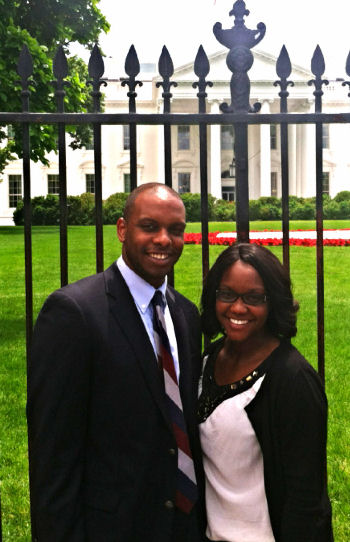 Mr. Jamar Slocum and Ms. Ayeetin Azah