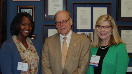 Ms. Azah, Rep. Steve Cohen, and Dr. Womack - Leadership Day - May 21, 2015