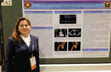 Victoria Loseva, MD - Resident at Meharry - Subclavian Steal Syndrome