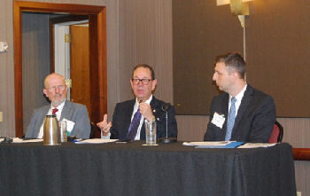 TNACP Panel Discussion 2015 - Right to left: Dr. B.W. Ruffner, Mr. Kevin Spiegel, Mr. Brooks Daverman