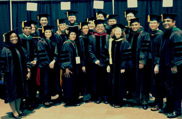 New Fellows at Convocation 2015