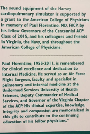 Beautiful tribute to Dr. Paul Florentino