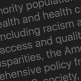 ACP Releases Comprehensive Framework to Address Disparities and Discrimination in Health Care
