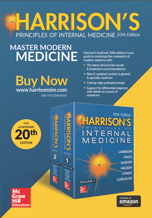 Harrison's Principles of Internal Medicine 20th Edition; Master Modern Medcine; www.harrisonsim.com
