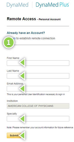 Remote Access Login