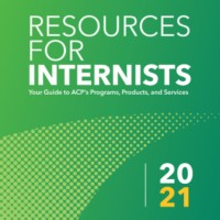 2021 Resources for Internists