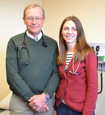 Ronald V. Loge, MD, MACP and Anna S. Loge, MD