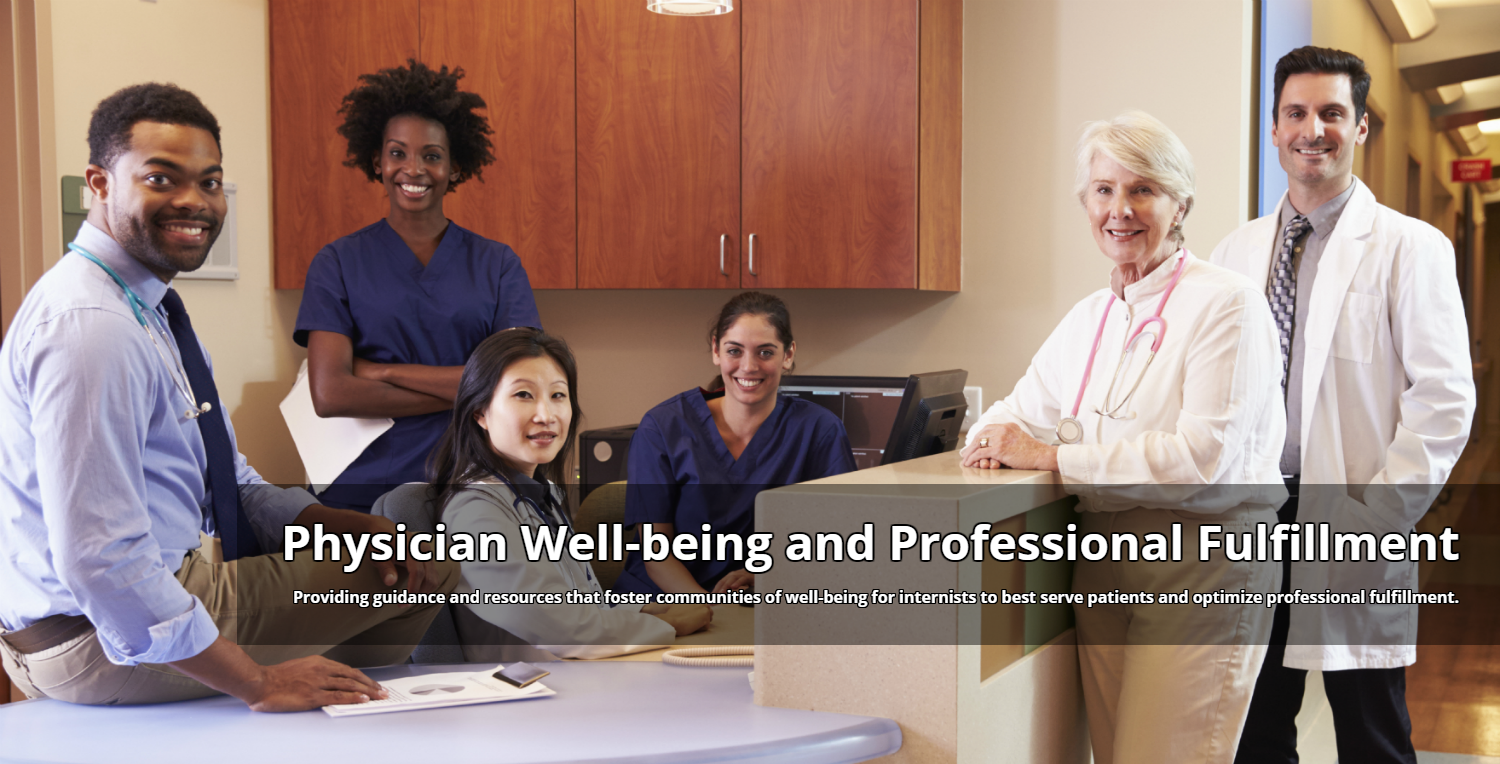 Physician Well-being and Professional Fulfillment